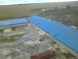 Cтроительство ангаров, складов, зернохранилищь, коровников,