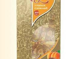 """Цукерки """"Абрикос з горіхом в шоколаді"""" 500г"""