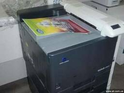 Цветной принтер Bizhub C353P