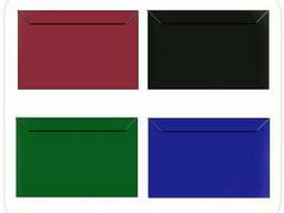 Цветные крафт конверты К7 прямоугольный клапан