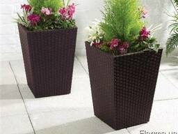 Цветочный горшок Rattan Planter