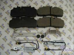 D159.29159 Колодки тормозные ось SAF , SMB , Schmitz , DAF L