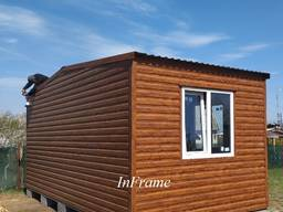 Дачный домик 3х6м