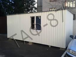 Дачный домик 6х2,6х2,3м, бытовка, садовый домик