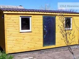 Дачный домик 6x3 м