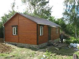 Дачный домик 8 х 5 м.