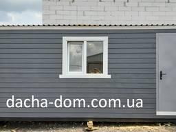 Дачный домик/бытовка/мини-офис, каркасный дом. Евробрус.