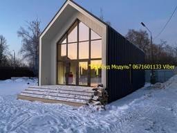 Дачный модуль панельные дома изготовления в Одессе