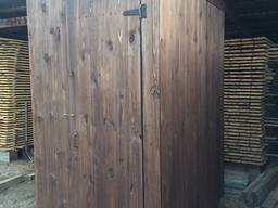 Дачный туалет деревянный