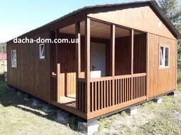 Дачные дома премиум качества-каркасное строительство