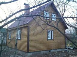 Дачные домики, вагончики, бытовки строительные, блок-посты