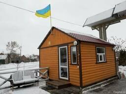 Дачные домики, вагончики, мини-офисы, блок-посты охраны