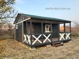 Дачные каркасные домики-новые - надежные материалы отделки