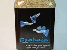 """Дафния сухая """"Daphnia"""" тм Буся - корм для аквариумных рыб 600 мл/100г"""