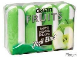 Dalan Fruits Creame 4*100г. Зеленое яблоко