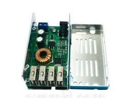DC-DC Преобразователь понижающий, модуль зарядки 12-24V / 4*USB 5. 3V 5A в Кропивницком