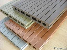 Деревопластик-доска террасная, фасадные панели, заборы