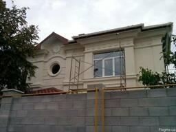 Декор фасадный из пенопласта с покрытием цементно полимерным