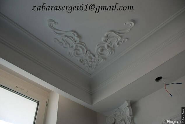 Декор интерьера и фасада. Лепные и скульптурные работы.