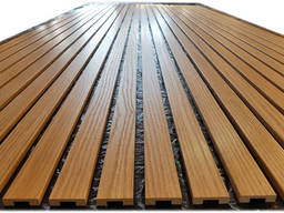 Деревянные реечные панели, перегородки, рейки