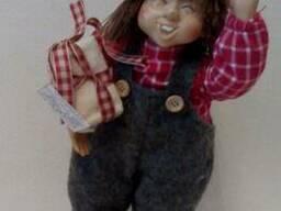 Декор - кукла Уильям 26см