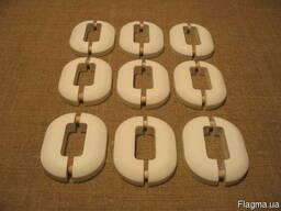 Декор-ные накладки на опоры радиаторов искусственный камень