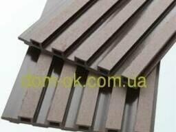 Декоративная фасадная панель 175х13х2200 Венге, Натур. ..