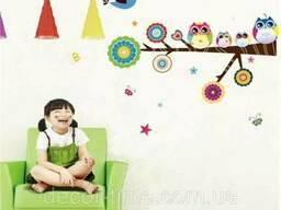 Декоративная интерьерная наклейка на стену (026)