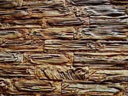 Декоративная кирпич гипсовый  кедровый сруб