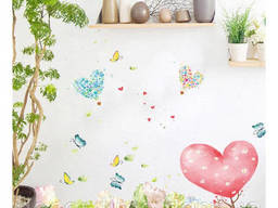 Декоративная наклейка на стену, мебель для дома и кафе. ..