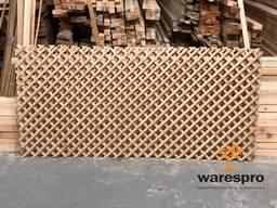 Декоративная решетка деревянная (пергола)