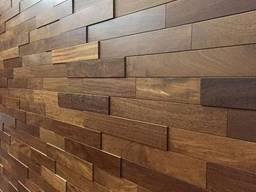 Декоративні стінові 3D панелі з дерева