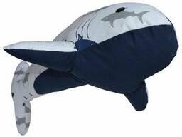 Декоративний текстильний виріб Подушка Акула SKL58-252371