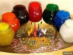 Декоративный цветной гидрогель - сделай его сам