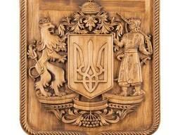 Декоративный Герб Украины ручной работы Под заказ