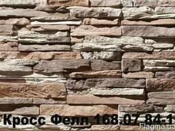 Декоративный камень Кросс Фелл для фасада и интерьера