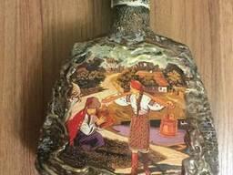 Декорированные стеклянные бутылочки к разным событиям.
