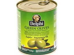 Delphi / Делфи Крупные оливки с косточкой , 850 мл Греция