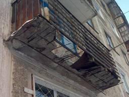 Демонтаж балкона Харьков.