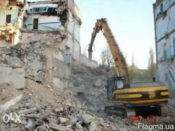 Демонтаж будівель та споруд - Будь-якої складності