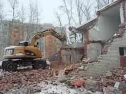 Демонтаж дач домов снос старых строений Киев Вышгород Минист