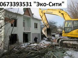 Разбор (демонтаж) дома