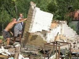 Демонтаж дома харьков