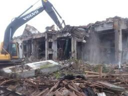 Демонтаж домов дач сараев вывоз мусора Боярка Вишневое