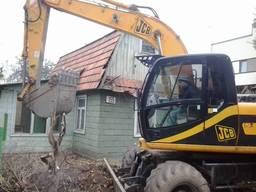 Демонтажные работы, демонтаж зданий, снос Бровары
