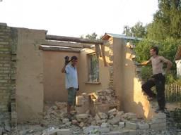 Демонтаж копка сливные ямы траншеи бетонные демонтажные