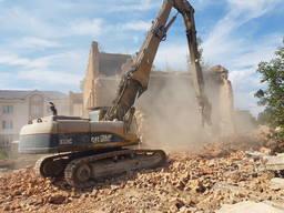 Демонтаж любой сложности. Вывоз мусора, земляные работы.