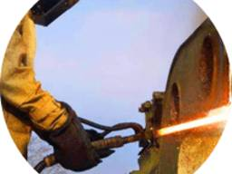 Демонтаж металлоконструкций (порезка металла)