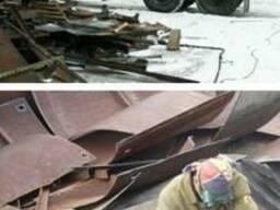 Демонтаж металлоконструкций Севастополь