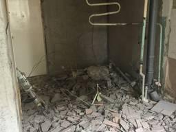 Демонтаж , перепланировка квартиры